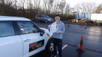 Well done Bradly on passing your driving test first timeFamily hat-trick ALL FIRST TIME PASS